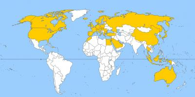 Cartina Mondo Ikea.Qatar Mappa Mappe Qatar Asia Occidentale Asia